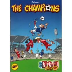 Champions Just kick-it! Strip 22 1e druk 2011