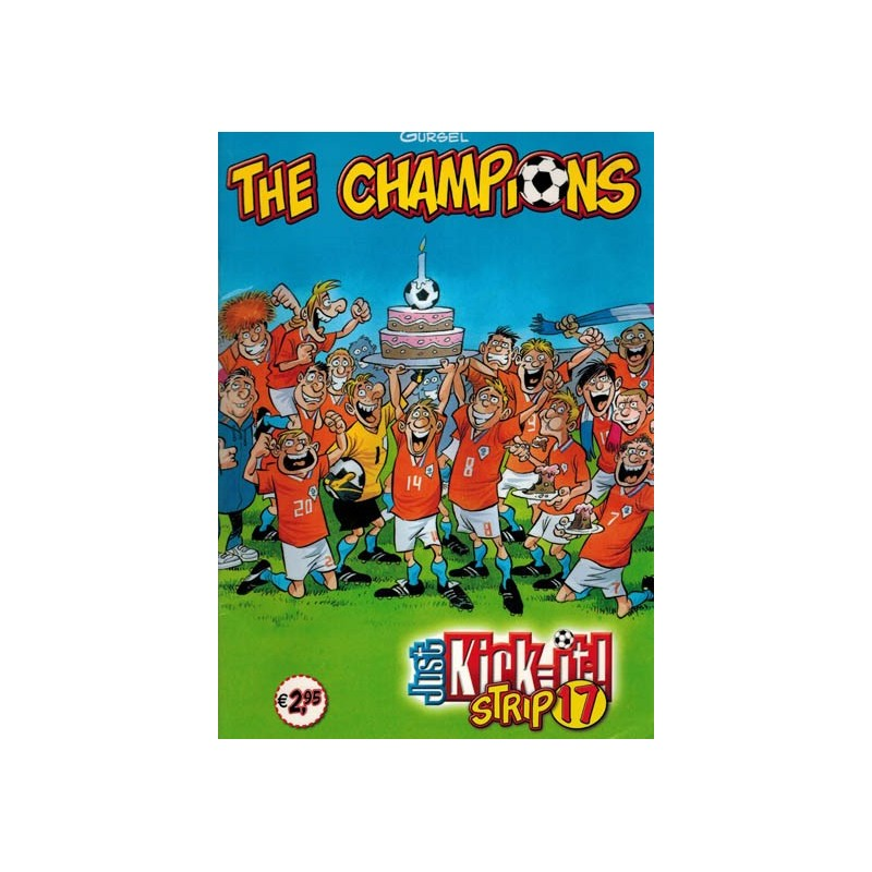 Champions Just kick-it! Strip 17 1e druk 2011