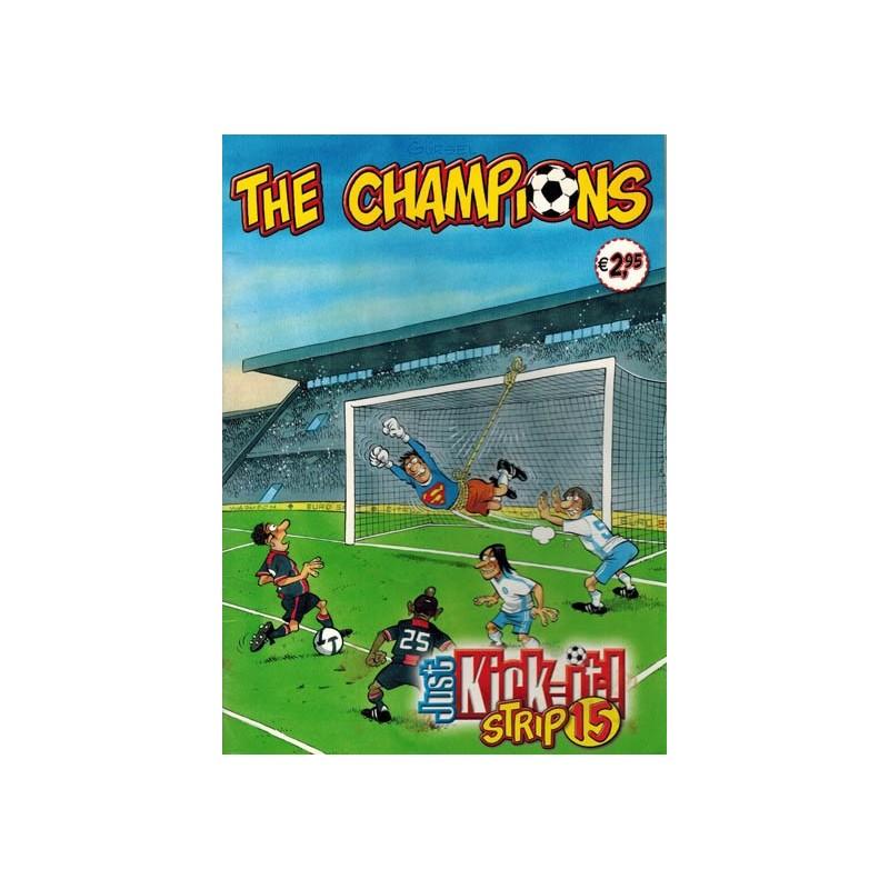 Champions Just kick-it! strip 15 1e druk 2010