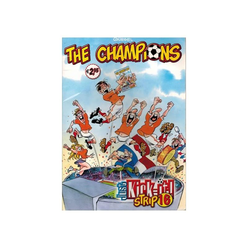 Champions Just kick-it! strip 16 1e druk 2011