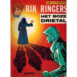 Rik Ringers 22 Het boze drietal herdruk Lombard