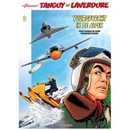 Tangy & Laverdure  classic 03 Vuurgevecht in de Alpen