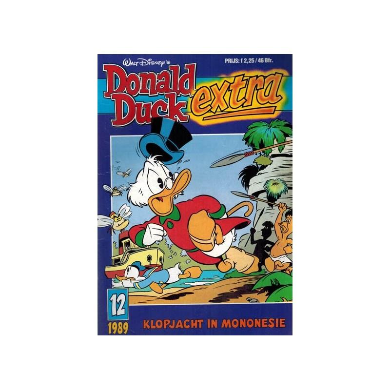 Donald Duck Extra 1989 12 Klopjacht in Mononesie 1e druk
