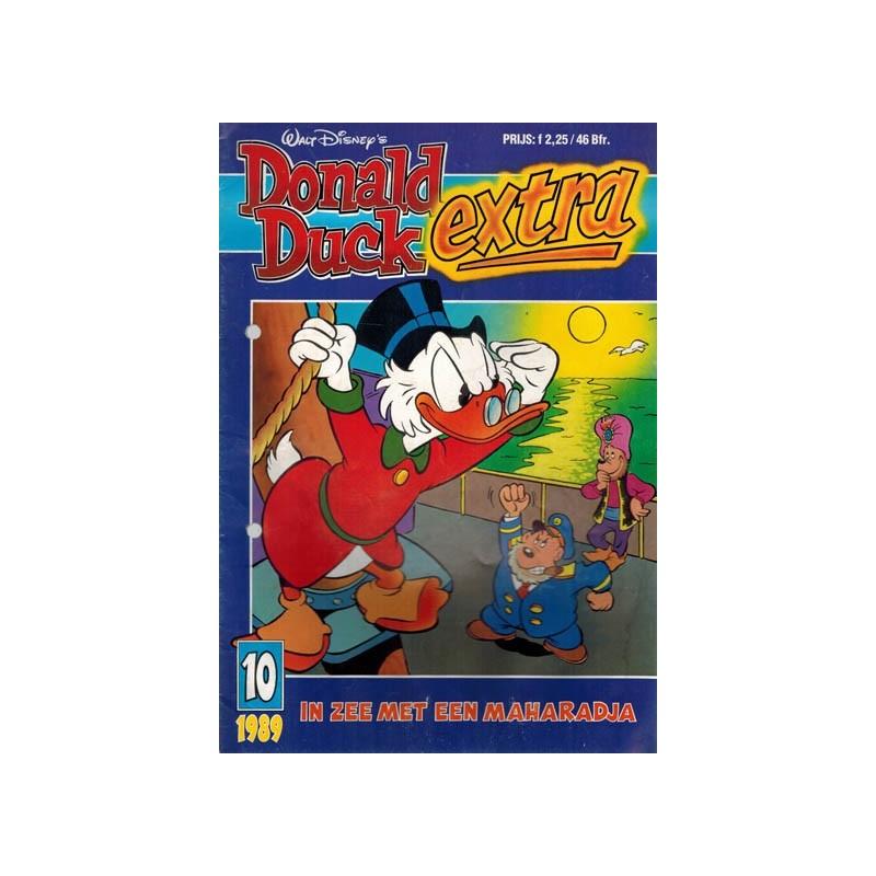 Donald Duck Extra 1989 10% In zee met een maharadja 1e druk