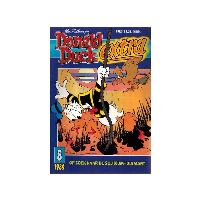 Donald Duck Extra 1989 08 Op zoek naar de solidium-diamant 1e druk