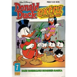 Donald Duck Extra 1989 07 Hare koninklijke hoogheid Magica 1e druk