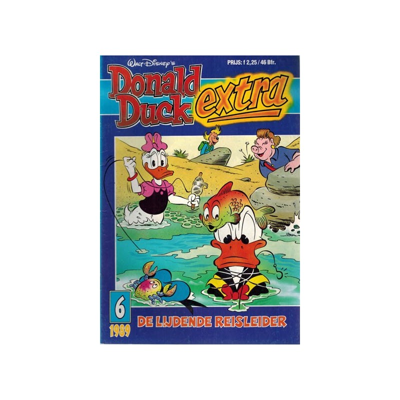 Donald Duck Extra 1989 06 De lijdende reisleider 1e druk