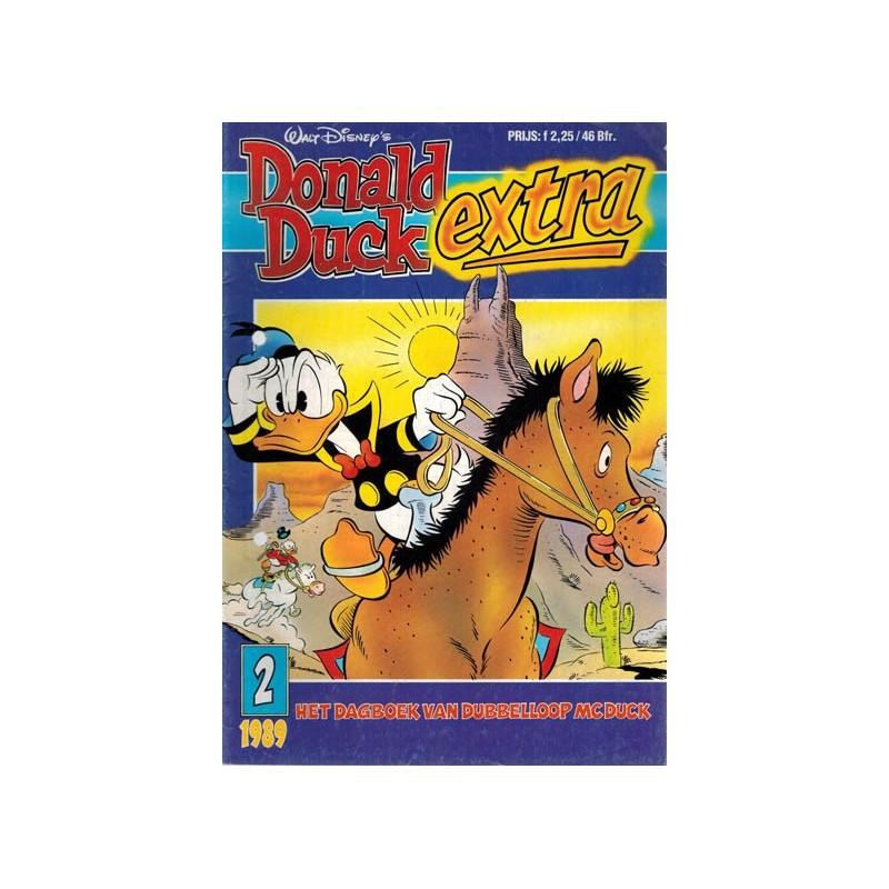 Donald Duck Extra 1989 02 Het dagboek van Dubbelloop McDuck 1e druk