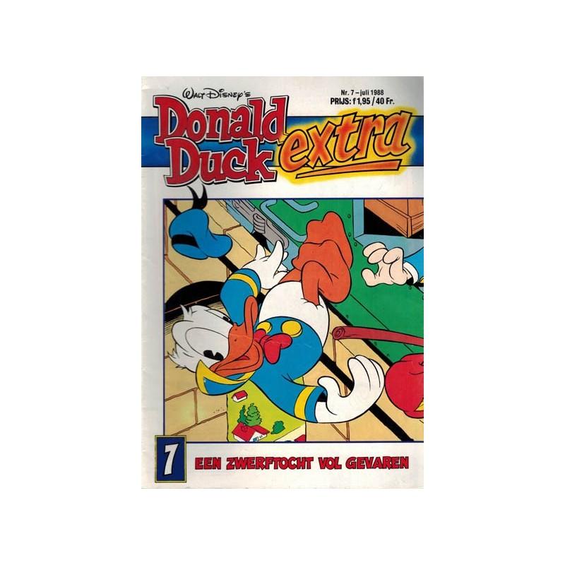Donald Duck Extra 1988 07 Een zwerftocht vol gevaren 1e druk