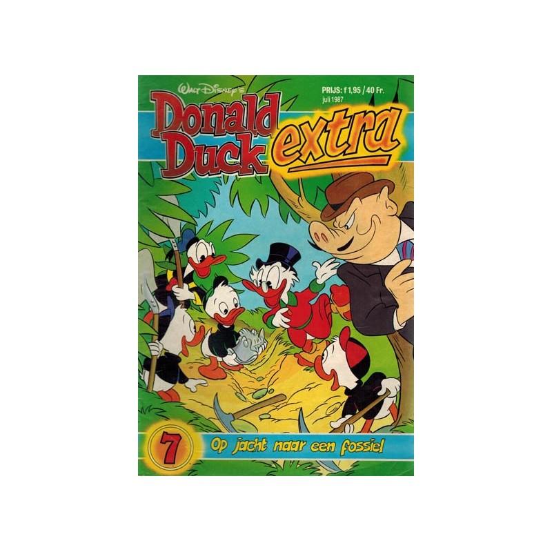 Donald Duck Extra 1987 07 Op jacht naar een fossiel 1e druk