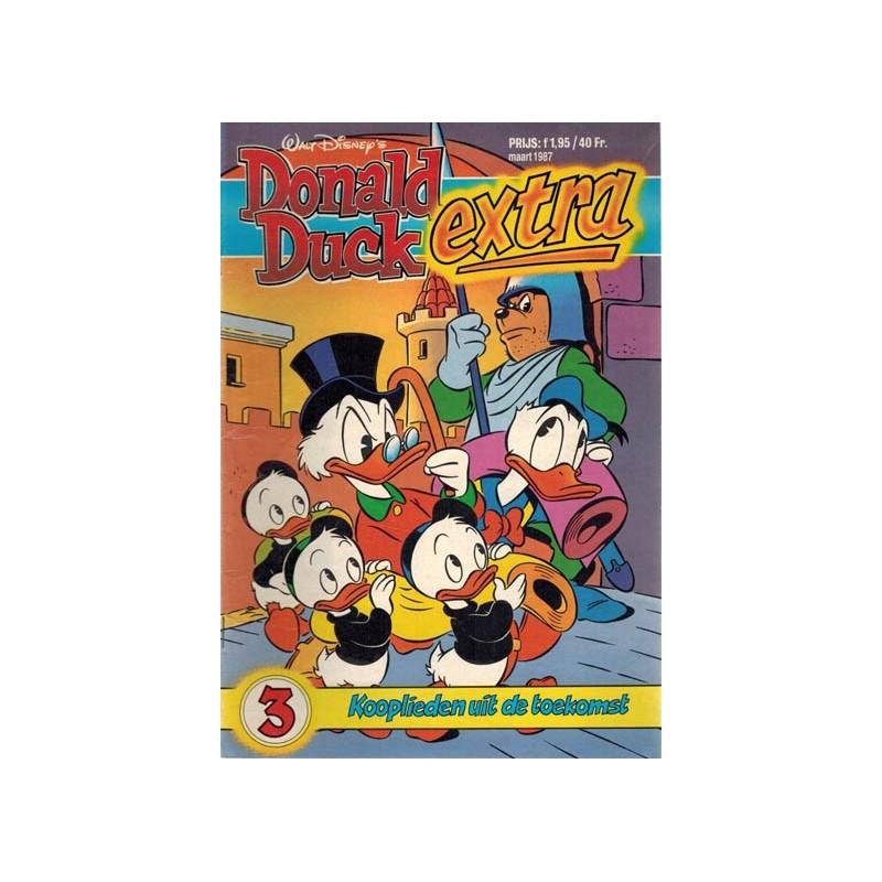 Donald Duck Extra 1987 03 Kooplieden uit de toekomst 1e druk