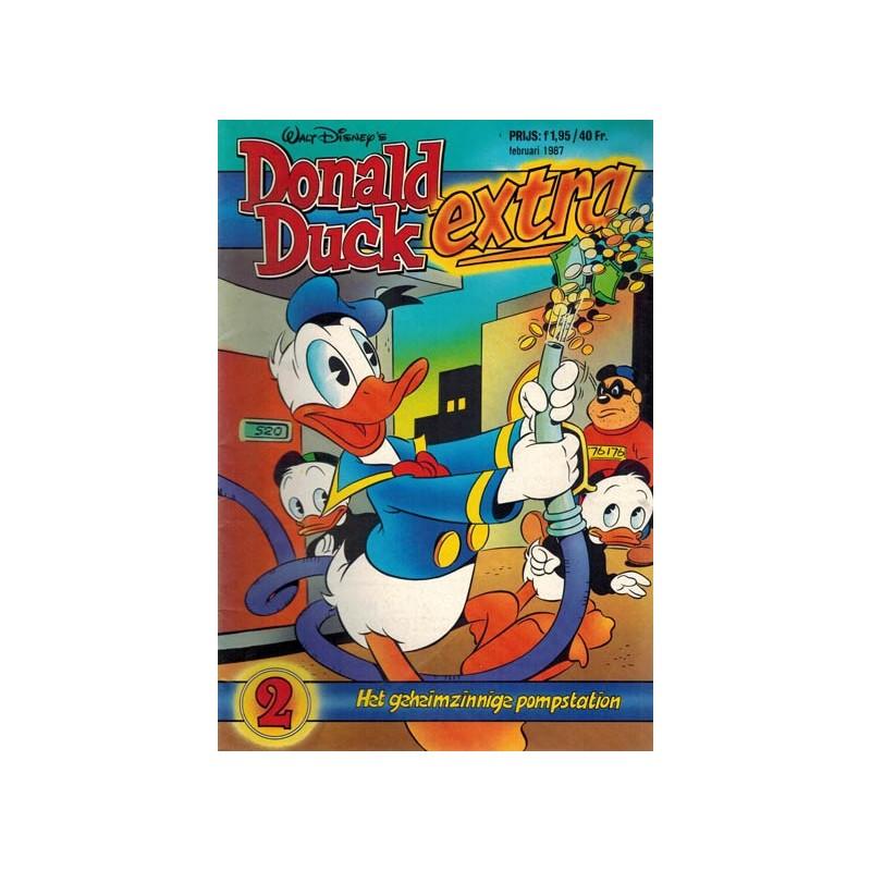 Donald Duck Extra 1987 02 Het geheimzinnig pompstation 1e druk