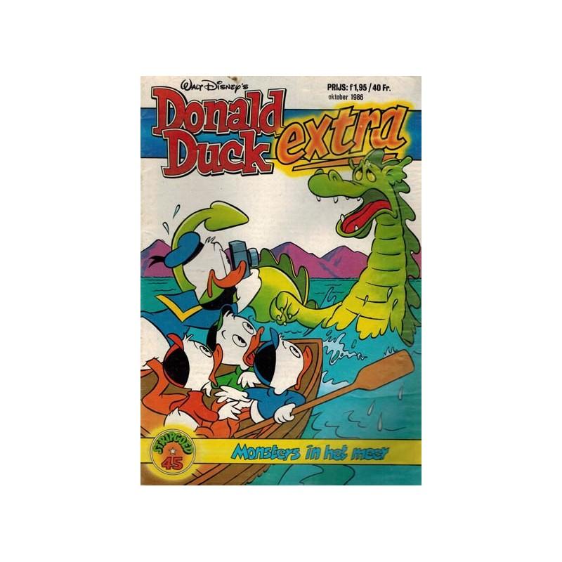 Donald Duck Stripgoed 45 Donald Duck Extra Monsters in het meer 1986