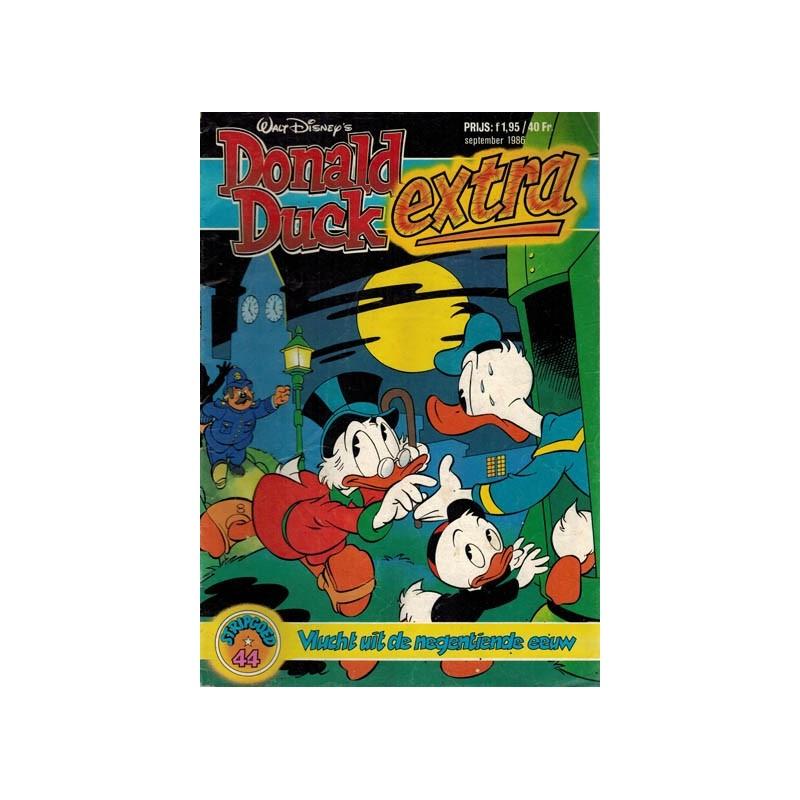 Donald Duck Stripgoed 44 Donald Duck Extra Vlucht uit de negentiende eeuw 1986