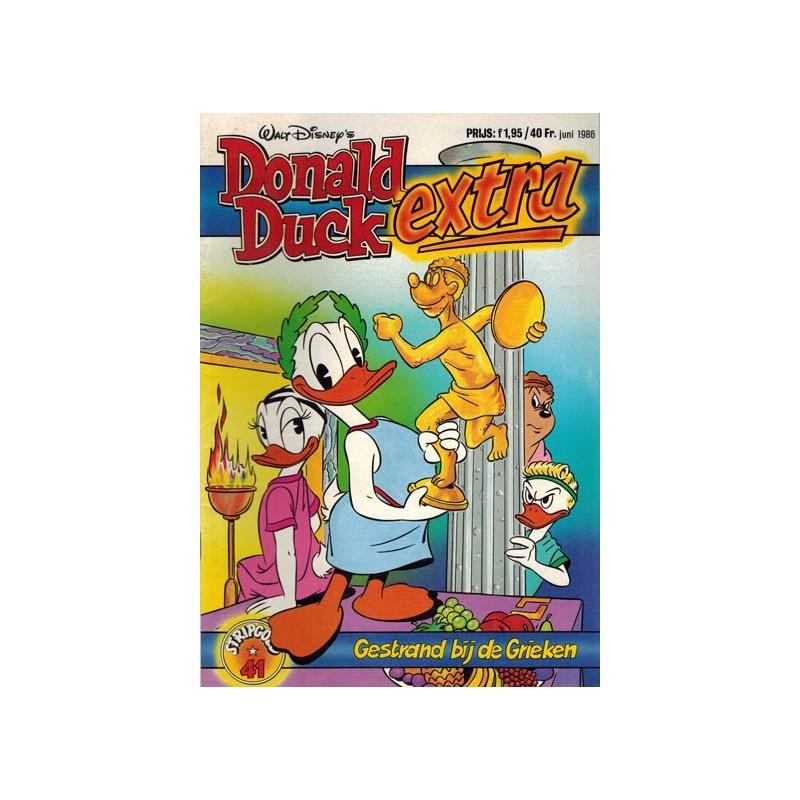 Donald Duck Stripgoed 41 Donald Duck Extra Gestrand bij de Grieken 1986