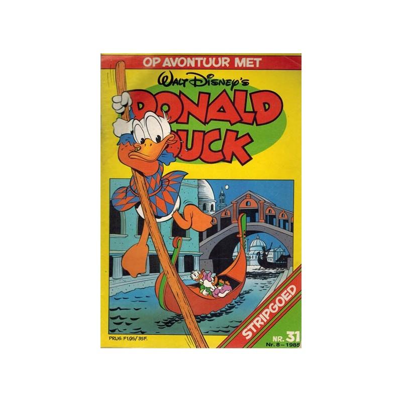 Donald Duck Stripgoed 31 Op avontuur met Donald Duck 1985