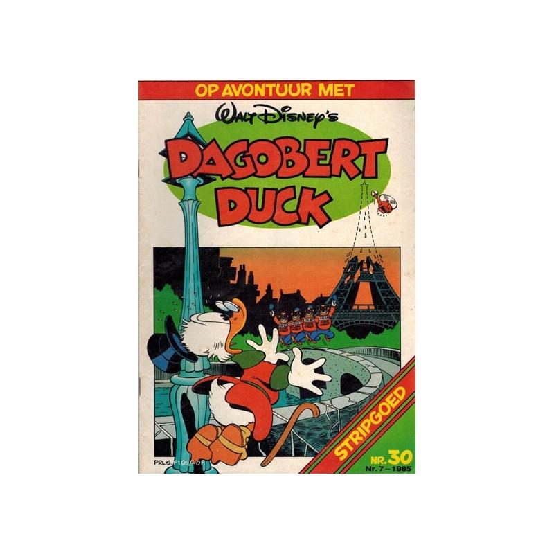 Donald Duck Stripgoed 30 Op avontuur met Dagobert Duck 1985