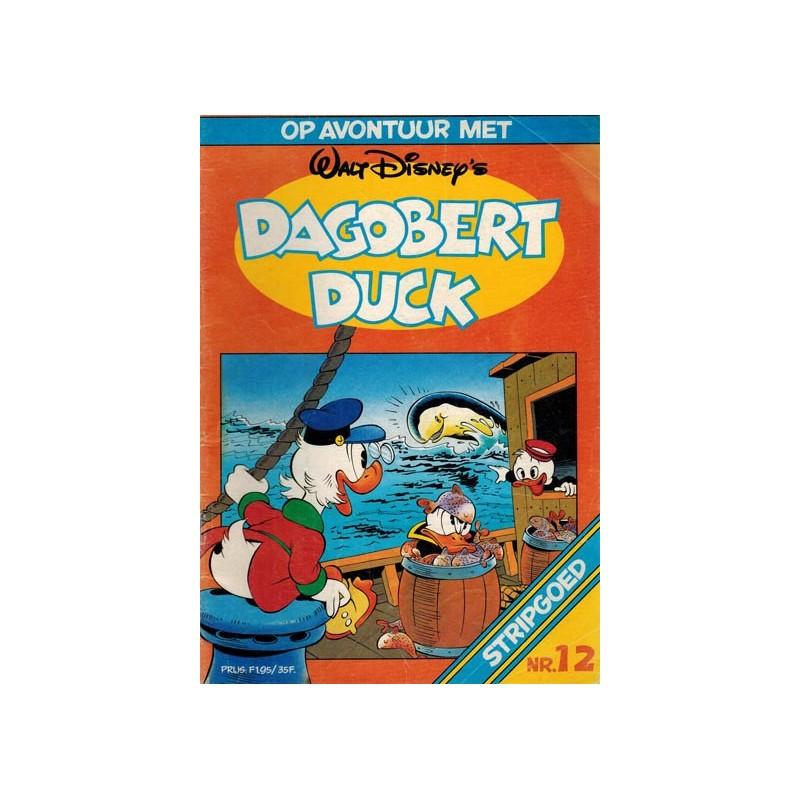 Donald Duck Stripgoed 12 Op avontuur met Dagobert Duck 1983