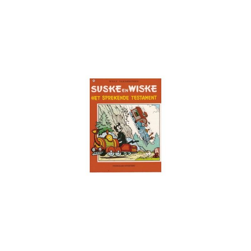 Suske & Wiske 119 Het sprekende testament herdruk