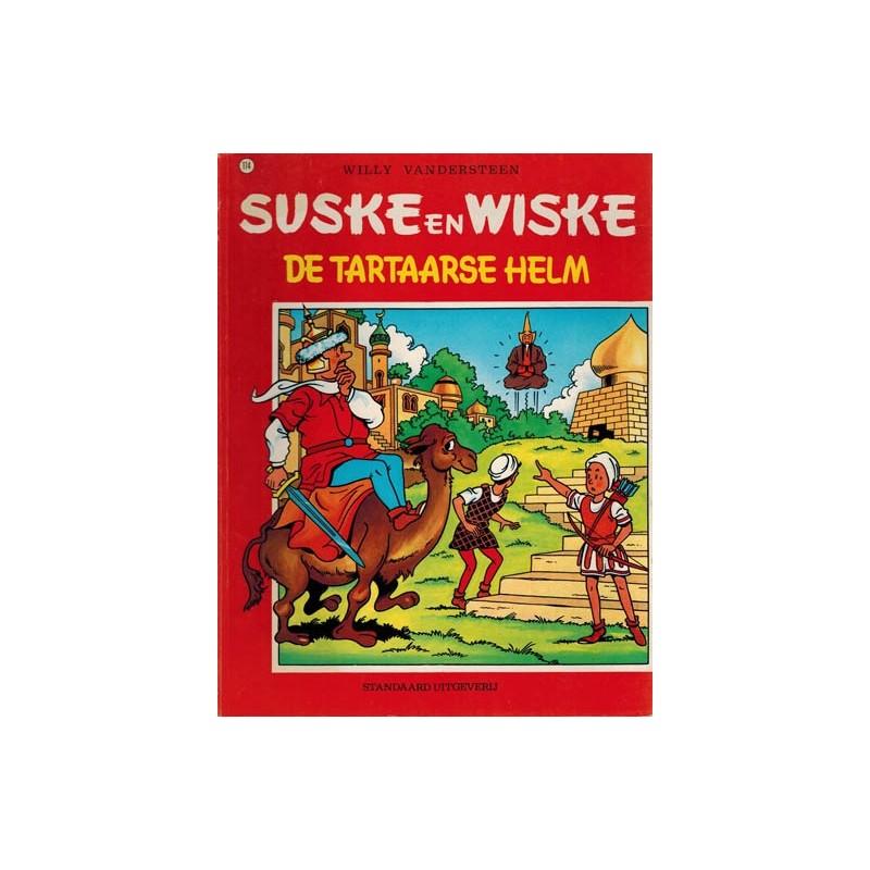 Suske & Wiske 114 De tartaarse helm herdruk