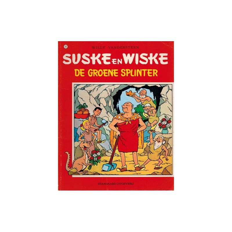 Suske & Wiske 112 De groene splinter herdruk