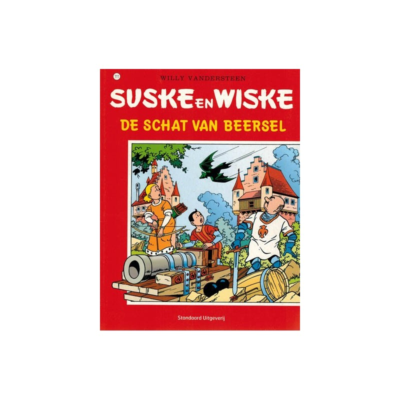 Suske & Wiske 111 De schat van Beersel herdruk