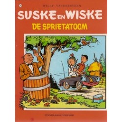 Suske & Wiske 107 De sprietatoom herdruk