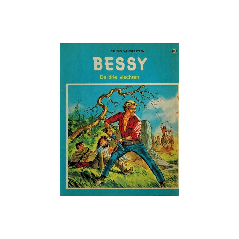 Bessy 085 De drie vlechten 1e druk 1971