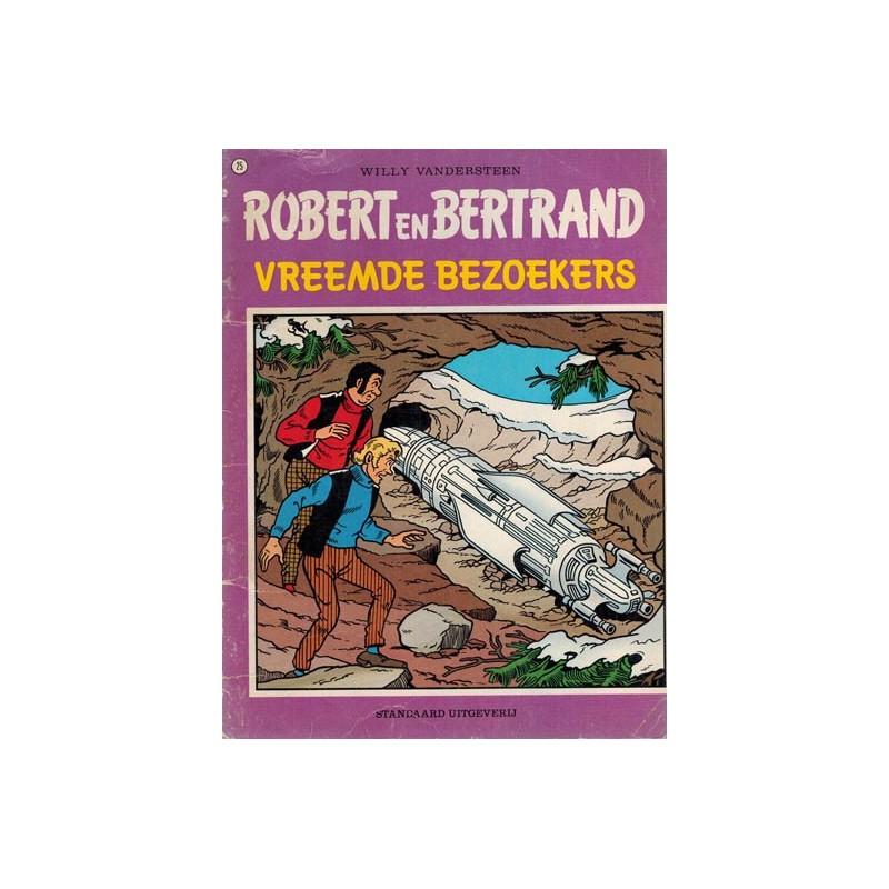 Robert en Bertrand 25% Vreemde bezoekers 1e druk 1979