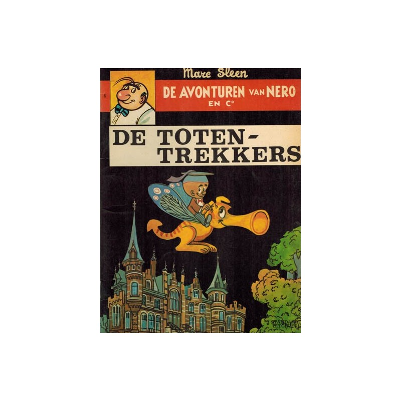 Nero 027 De Totentrekkers 1e druk 1972 (1e druk binnenwerk met nieuwe cover)