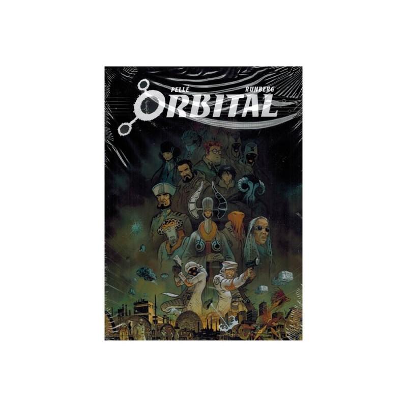 Orbital box set deel 1 t/m 8 SC in luxe casette