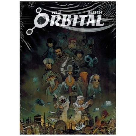 Orbital box set deel 1 t/m 8 SC in luxe cassette