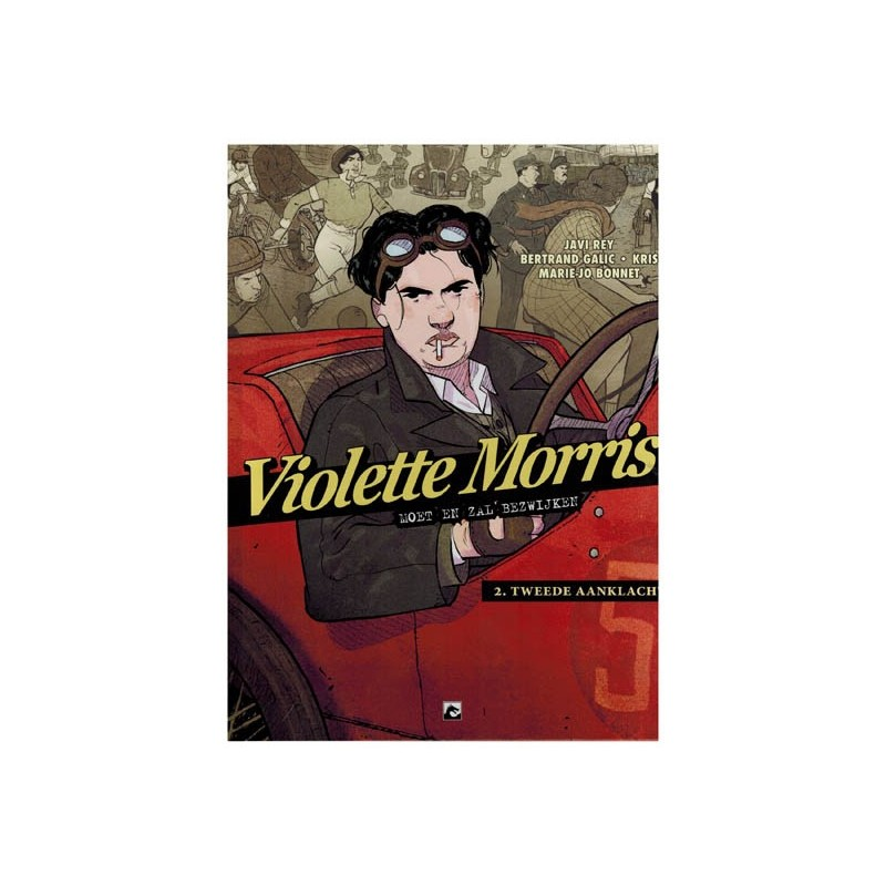 Violette Morris HC 02 Moet en zal bezwijken