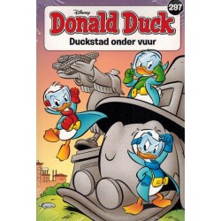 Donald Duck  pocket 297 Duckstad onder vuur