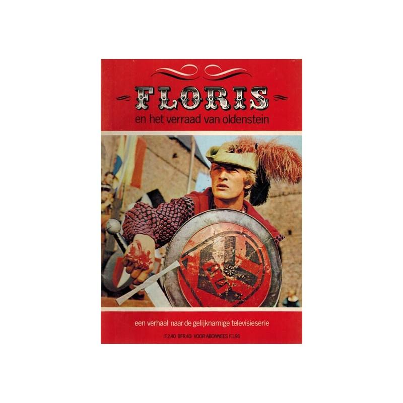 Floris TV-album 02 Het verraad van Oldenstein 1e druk 1971 (geen strip!)