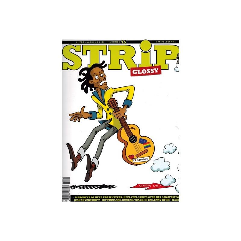 Strip glossy 16 Margreet de Heer, Metro 2033 Tom Poes De tijdverdrijver, Jelmer & Scarlet Edge