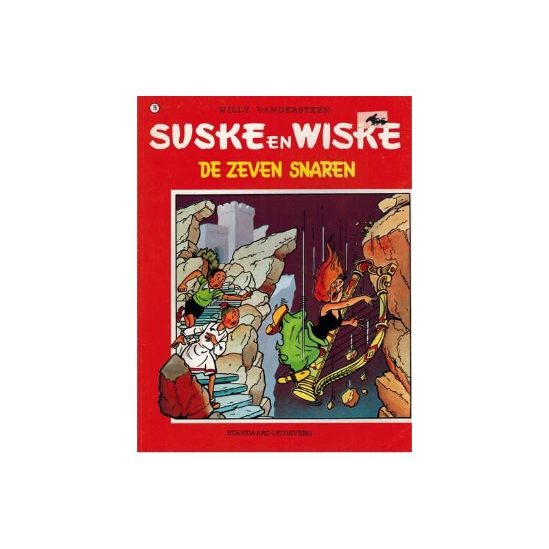 Suske & Wiske reclamealbum 079 De zeven snaren herdruk met kartonnen Sidonia (behorende bij Barabas' lab)