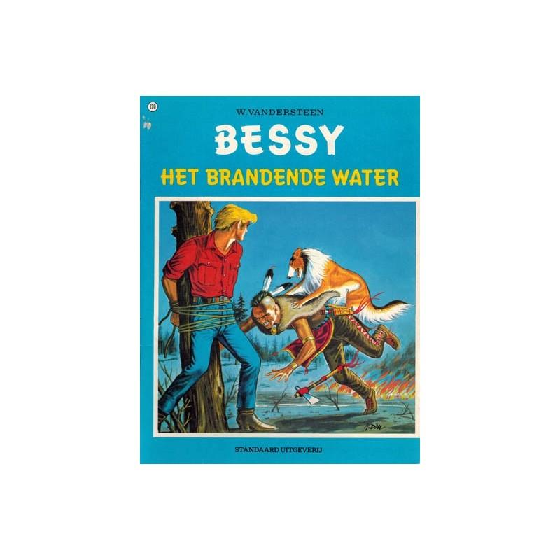 Bessy 120 Het brandende water 1e druk 1976
