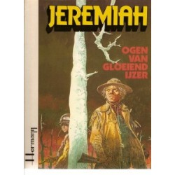 Jeremiah HC 04 Ogen van gloeiend ijzer 1e druk 1980