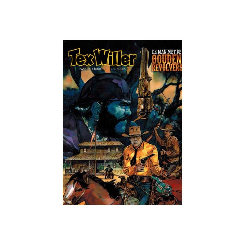 Tex Willer  08 De man met de gouden revolvers