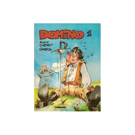 Domino setje Deel 1 t/m 5 1e drukken 1979-1982
