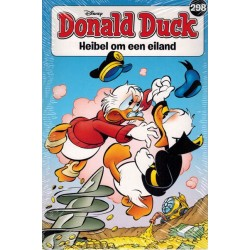 Donald Duck  pocket 298 Heibel om een eiland