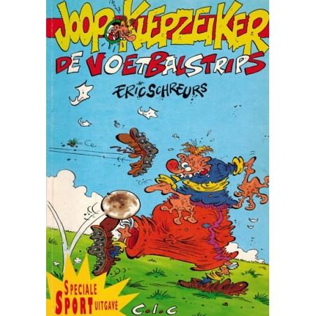 Joop Klepzeiker thema-album 01% Voetbalstrips special 2001