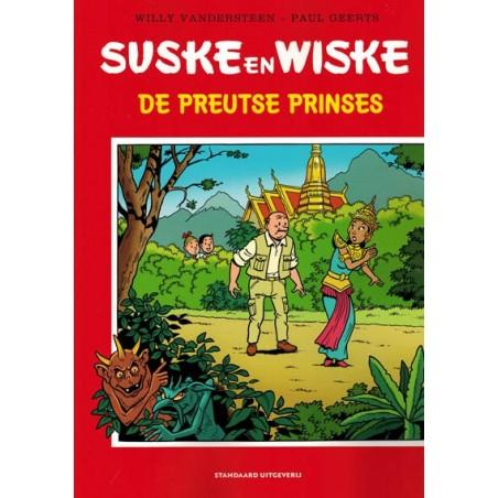Suske & Wiske    Special De preutse prinses (naar Willy Vandersteen)