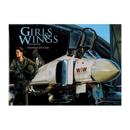Girls & wings HC Artbook