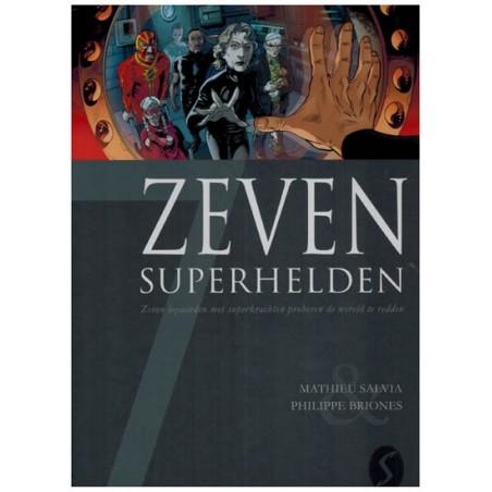 Zeven 18 HC 7 Superhelden Zeven bejaarden met superkrachten proberen de wereld te redden