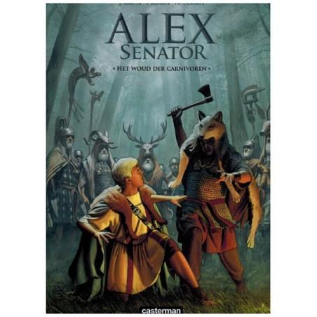 Alex  senator 10 Het woud der carnivoren (naar Jacques Martin)