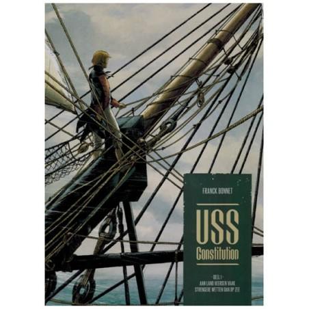 USS Constitution HC 01 Aan land heersen vaak strengere wetten dan op zee