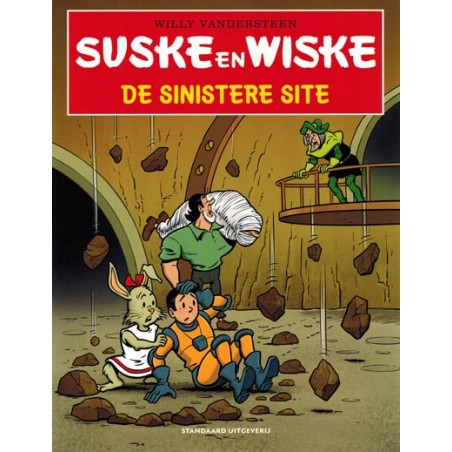 Suske & Wiske   kortverhalenset V 14. De sinistere site 15. Juffertje Janboel 16. Het vurige Vitamtje