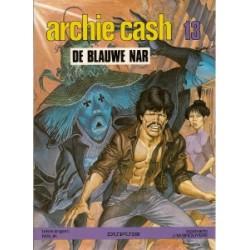 Archie Cash 13 De blauwe nar 1e druk 1987